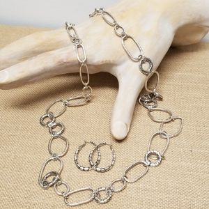 BRIGHTON Pebble Collection 2pc. Necklace/ Earrings
